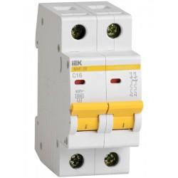 Автоматический выключатель IEK ВА47-29 2Р 13А 4,5kA С