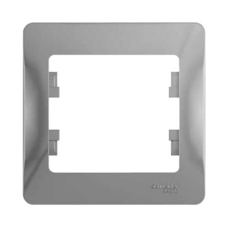 Schneider Electric Рамка 1 пост алюминий Glossa