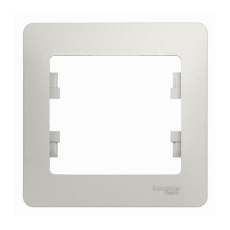 Schneider Electric Рамка 1 пост перламутровый Glossa