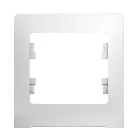 Schneider Electric Рамка вертикальная 3 поста белый Glossa