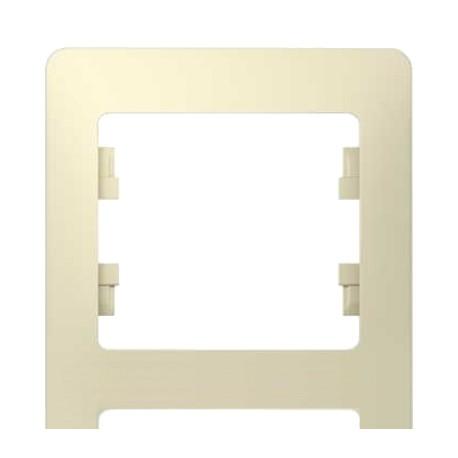 Schneider Electric Рамка вертикальная 3 поста бежевый Glossa