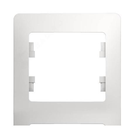 Schneider Electric Рамка вертикальная 4 поста белый Glossa