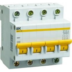 Автоматический выключатель IEK ВА47-29 4Р 63А 4,5kA С