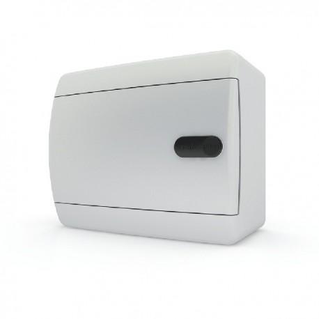Бокc Tekfor на 6 модулей навесной IP41 непрозрачная белая дверца