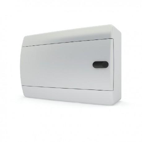 Бокc Tekfor на 12 модулей навесной IP41 непрозрачная белая дверца