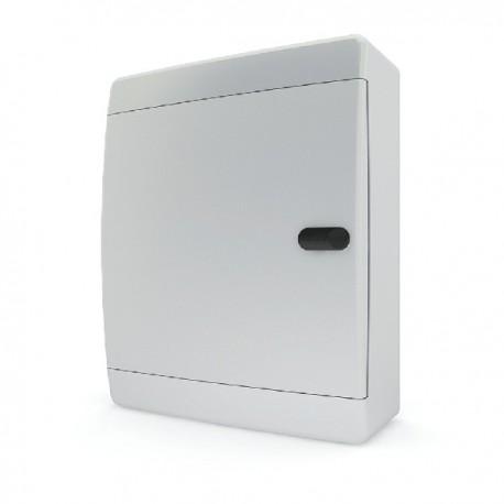 Бокc Tekfor на 18 модулей навесной IP41 непрозрачная белая дверца