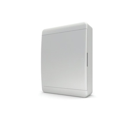 Бокc Tekfor на 24 модулей навесной IP41 непрозрачная белая дверца
