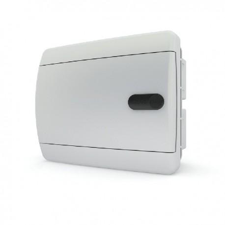 Бокc Tekfor на 6 модулей встраиваемый IP41 непрозрачная белая дверца