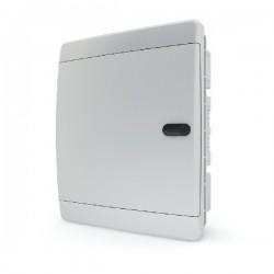 Бокc Tekfor на 18 модулей встраиваемый IP41 непрозрачная белая дверца