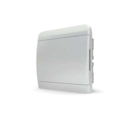 Бокc Tekfor на 8 модулей встраиваемый IP41 непрозрачная белая дверца