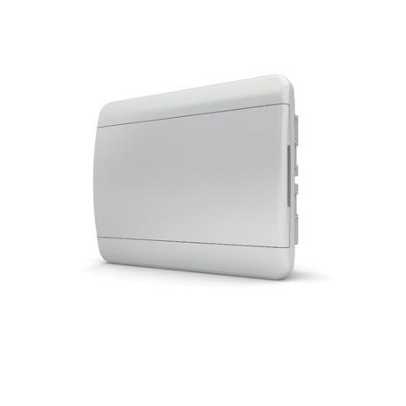 Бокc Tekfor на 12 модулей встраиваемый IP41 непрозрачная белая дверца