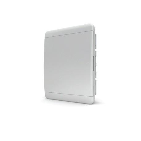 Бокc Tekfor на 24 модуля встраиваемый IP41 непрозрачная белая дверца