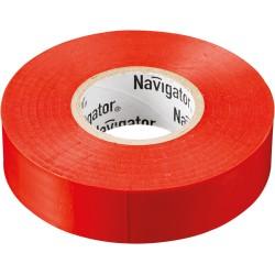 Изолента Navigator NIT-A19-20/R красная