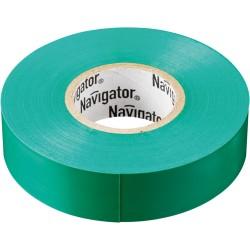 Изолента Navigator NIT-A19-20/G зелёная