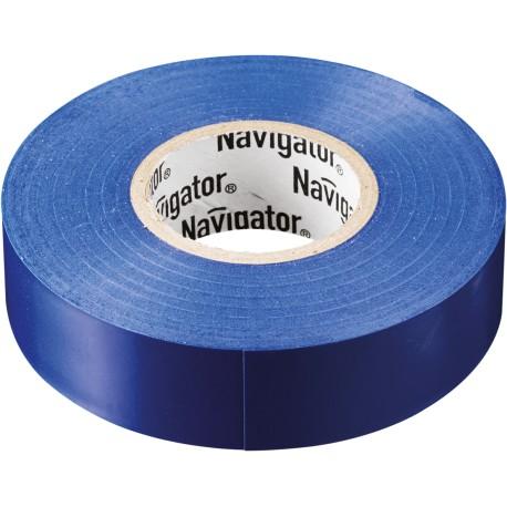 Изолента Navigator NIT-A19-20/B синяя