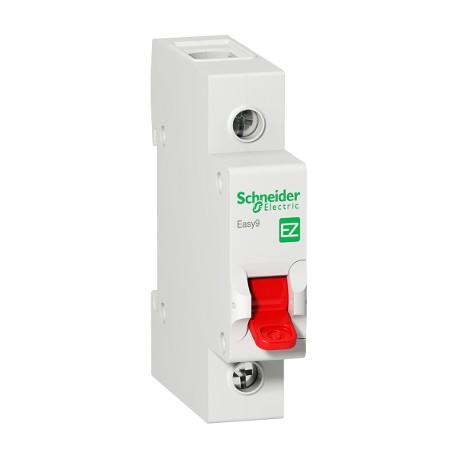 Выключатель (рубильник) Schneider Electric EASY9 1P 125А