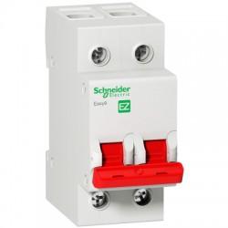 Выключатель (рубильник) Schneider Electric EASY9 2P 80А