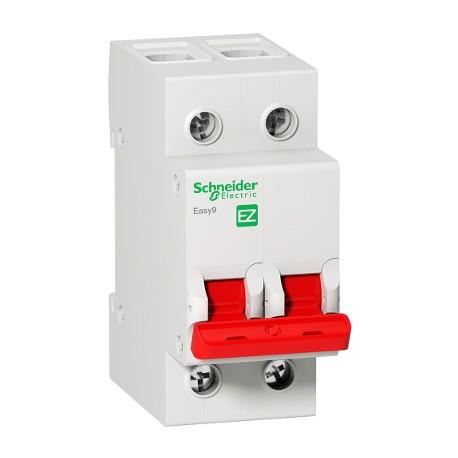 Выключатель (рубильник) Schneider Electric EASY9 2P 100А