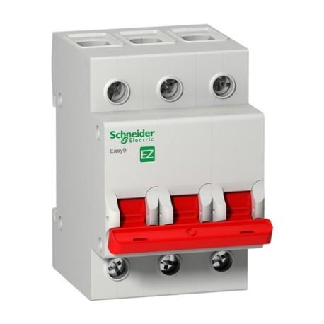 Выключатель (рубильник) Schneider Electric EASY9 3P 125А
