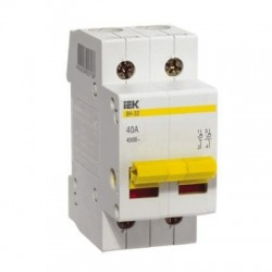 Выключатель (рубильник) IEK ВН-32 2P 100А