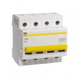 Выключатель (рубильник) IEK ВН-32 4P 40А