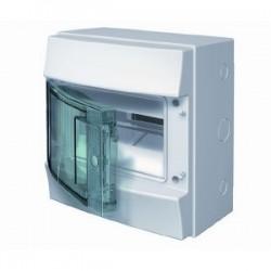 Бокc ABB Mistral41 8М навесной прозрачная дверь, с клеммными блоками