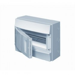 Бокc ABB Mistral41 12М навесной непрозрачная дверь, с клеммными блоками