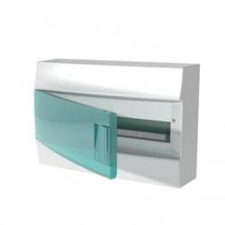 Бокc ABB Mistral41 18М навесной зелёная дверь, без клеммных блоков