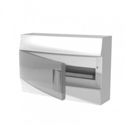 Бокc ABB Mistral41 18М навесной прозрачная дверь, с клеммными блоками