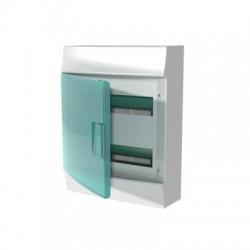 Бокc ABB Mistral41 24М навесной зелёная дверь, без клеммных блоков