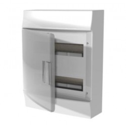 Бокc ABB Mistral41 24М навесной прозрачная дверь, с клеммными блоками