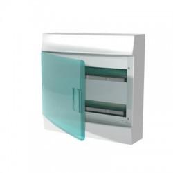 Бокc ABB Mistral41 36М навесной зелёная дверь, без клеммных блоков,  2 ряда