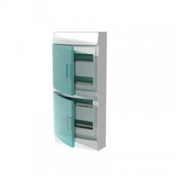 Бокc ABB Mistral41 48М навесной зелёная дверь, без клеммных блоков