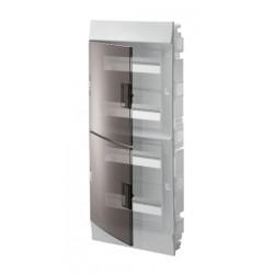Бокc ABB Mistral41 48М навесной прозрачная дверь, с клеммными блоками