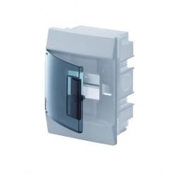 Бокc ABB Mistral41 850° 4М встраиваемый зелёная дверь, без клеммных блоков
