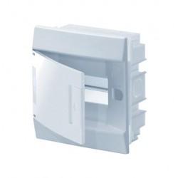 Бокc ABB Mistral41 6М встраиваемый непрозр. дверь, c клеммными блоками