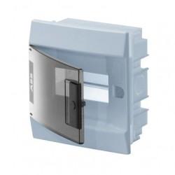 Бокc ABB Mistral41 6М встраиваемый прозр. дверь, c клеммными блоками