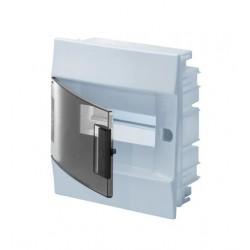 Бокc ABB Mistral41 8М встраиваемый прозр. дверь, c клеммными блоками