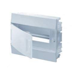 Бокc ABB Mistral41 12М встраиваемый непрозр. дверь, c клеммными блоками
