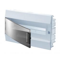 Бокc ABB Mistral41 18М встраиваемый прозр. дверь, c клеммными блоками