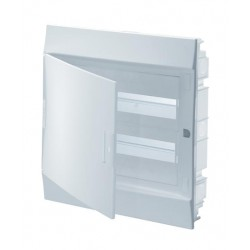 Бокc ABB Mistral41 24М встраиваемый непрозр. дверь, c клеммными блоками