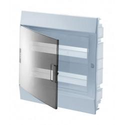 Бокc ABB Mistral41 24М встраиваемый прозр. дверь, c клеммными блоками