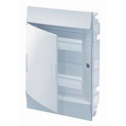 Бокc ABB Mistral41 36М встраиваемый непрозрачная дверь, с клеммными блоками, 2 ряда
