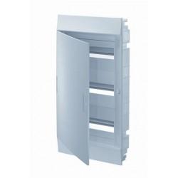 Бокc ABB Mistral41 36М встраиваемый непрозрачная дверь, с клеммными блоками, 3 ряда