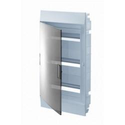 Бокc ABB Mistral41 36М встраиваемый прозр. дверь, с клеммными блоками, 3 ряда