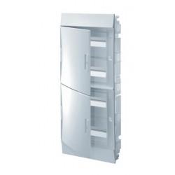Бокc ABB Mistral41 48М встраиваемый непрозрачная дверь, с клеммными блоками