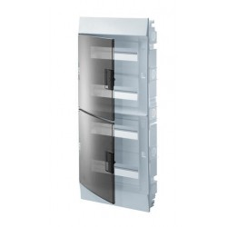 Бокc ABB Mistral41 48М встраиваемый прозр. дверь, с клеммными блоками