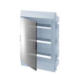 Бокc ABB Mistral41 54М встраиваемый прозрачная дверь, с клеммными блоками
