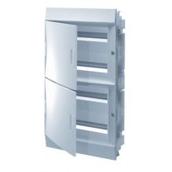 Бокc ABB Mistral41 72М встраиваемый непрозр. дверь, без клеммных блоков