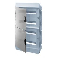 Бокc ABB Mistral41 72М встраиваемый прозрачная дверь, с клеммными блоками